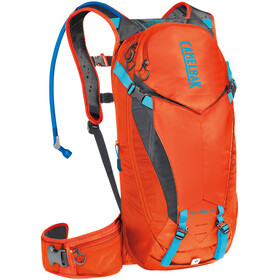 CamelBak K.U.D.U. Protector 10 Zaino, dry red orange/charcoal